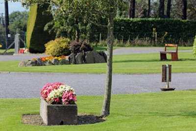 entrance to Blarney Caravan park